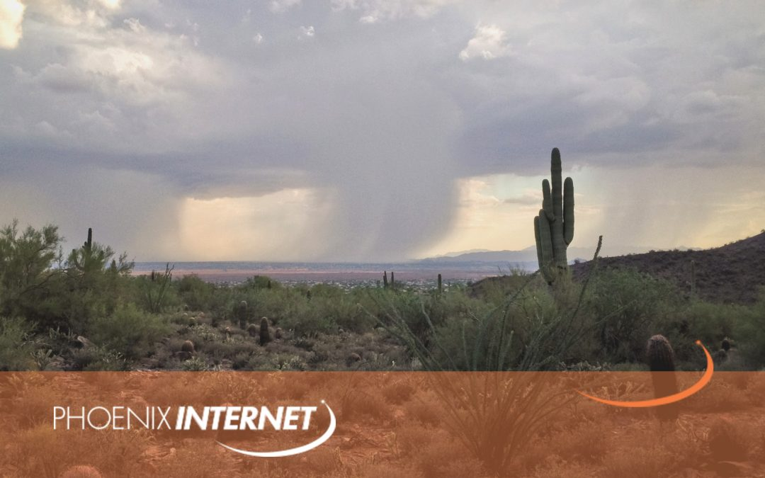 Is your Business Monsoon Ready For Phoenix, AZ Monsoons In 2019?